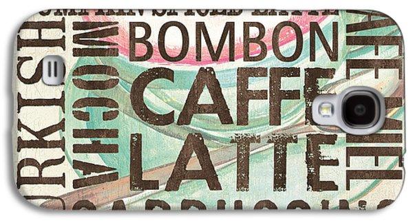 Espresso Galaxy S4 Cases - Cream Coffee of the Day 2 Galaxy S4 Case by Debbie DeWitt