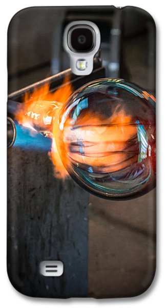 Asheville Galaxy S4 Cases - Creation at the Glass Blowers Bench Galaxy S4 Case by Rob Travis