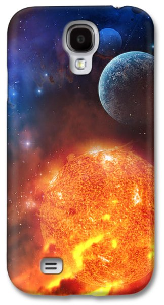 Galaxies Galaxy S4 Cases - Creation Galaxy S4 Case by Philip Straub