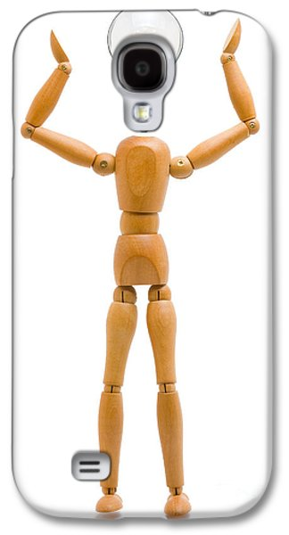 Person Sculptures Galaxy S4 Cases - Creativity Galaxy S4 Case by Shawn Hempel