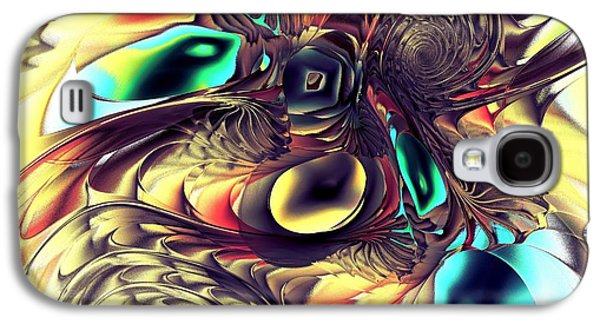 Purple Galaxy S4 Cases - Creature Galaxy S4 Case by Anastasiya Malakhova