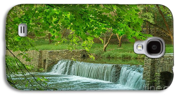 A Summer Evening Landscape Galaxy S4 Cases - creek at Valley Forge Galaxy S4 Case by Rima Biswas