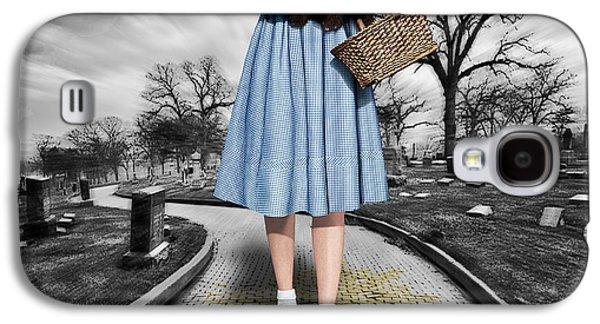 Recently Sold -  - Fantasy Photographs Galaxy S4 Cases - Creepy Dorothy In The Wizard of Oz Galaxy S4 Case by Tony Rubino