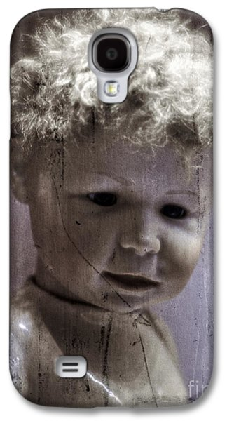 Doll Galaxy S4 Cases - Creepy Old Doll Galaxy S4 Case by Edward Fielding