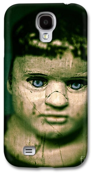 Creepy Galaxy S4 Cases - Creepy Zombie Child Galaxy S4 Case by Edward Fielding