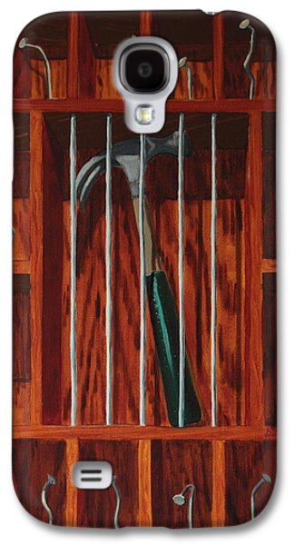 Hammer Paintings Galaxy S4 Cases - Crime and Punishment Galaxy S4 Case by Kyle Richardson