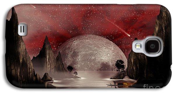 Crimson Night Galaxy S4 Case by Anthony Citro