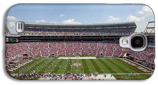 University Of Alabama Galaxy S4 Cases - Crimson Tide A-Day Football Game at University of Alabama  Galaxy S4 Case by Carol M Highsmith