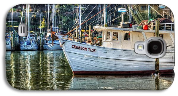 Crimson Tide In The Sunshine Galaxy S4 Case by Michael Thomas