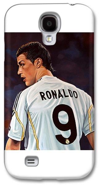 Cristiano Ronaldo Galaxy S4 Case by Paul Meijering