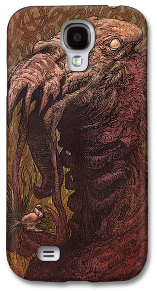 Science Fiction Mixed Media Galaxy S4 Cases - CroakJaw  Galaxy S4 Case by Ethan Harris