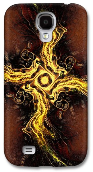 Christian Galaxy S4 Cases - Cross of Light Galaxy S4 Case by Anastasiya Malakhova