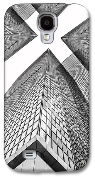 Religious Galaxy S4 Cases - Crossed Galaxy S4 Case by Az Jackson