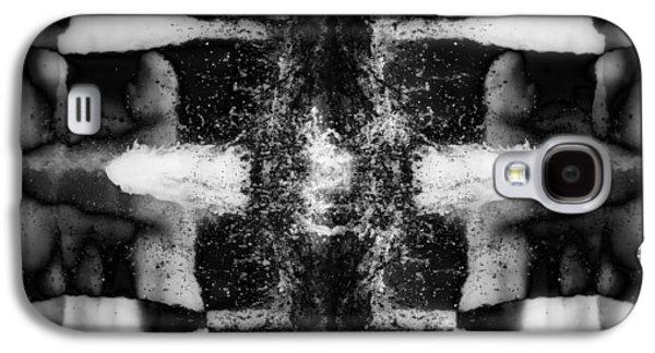 Abstract Digital Digital Art Galaxy S4 Cases - Crosmos Galaxy S4 Case by Wim Lanclus