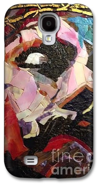 People Glass Galaxy S4 Cases - Crown of Thorns Galaxy S4 Case by Beverly Thomas Jenkins