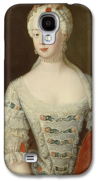 Wife Galaxy S4 Cases - Crown Princess Elisabeth Christine Von Preussen, C.1735 Oil On Canvas Galaxy S4 Case by Antoine Pesne