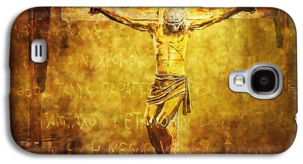 Crucified Via Dolorosa 12 Galaxy S4 Case by Lianne Schneider