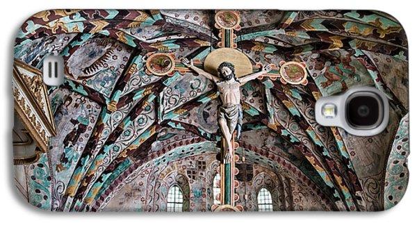Atonement Galaxy S4 Cases - Crucifix Harkeberga church Galaxy S4 Case by Leif Sohlman