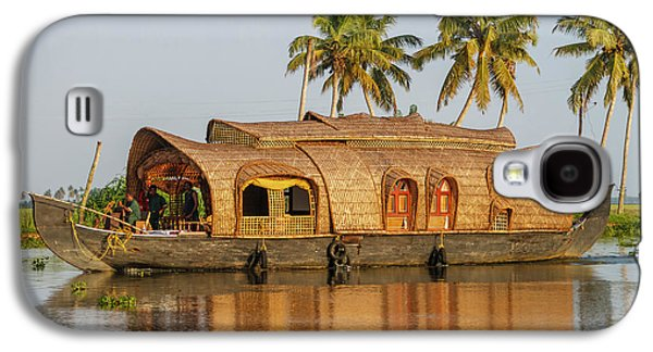 Cruise Boat In Backwaters, Kerala, India Galaxy S4 Case by Ali Kabas