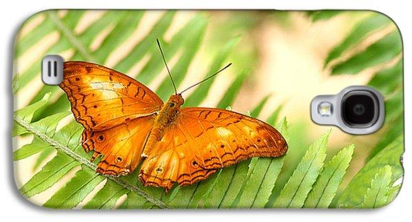 Oranger Galaxy S4 Cases - Cruiser in Orange Galaxy S4 Case by Ruth Jolly