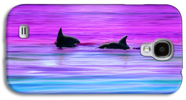 Seascape Digital Galaxy S4 Cases - Cruisin Together Galaxy S4 Case by Holly Kempe