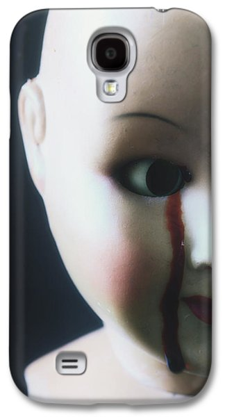 Torn Galaxy S4 Cases - Crying Blood Galaxy S4 Case by Joana Kruse