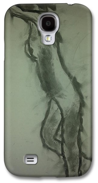 Crying Drawings Galaxy S4 Cases - Crying Model Galaxy S4 Case by The  Wizard