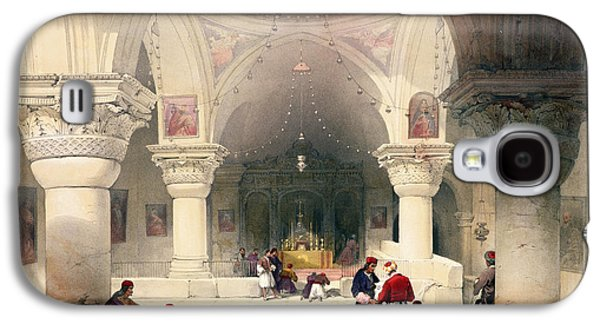 Church Drawings Galaxy S4 Cases - Crypt Of The Holy Sepulchre Galaxy S4 Case by David Roberts