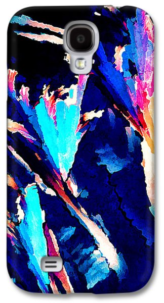 Nature Abstract Galaxy S4 Cases - Crystal C Abstract Galaxy S4 Case by Bill Caldwell -        ABeautifulSky Photography