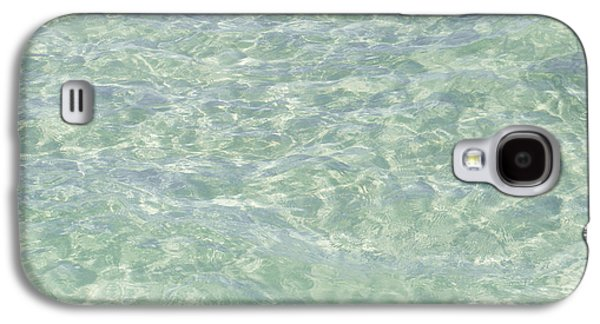 Textural Galaxy S4 Cases - Crystal Clear Atlantic Ocean Key West Galaxy S4 Case by Ian Monk