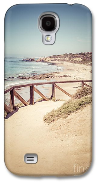 Beach Photography Galaxy S4 Cases - Crystal Cove Overlook Picture Galaxy S4 Case by Paul Velgos