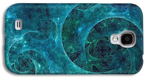 Plankton Galaxy S4 Cases - Crystal Nebula-II Galaxy S4 Case by Doug Morgan