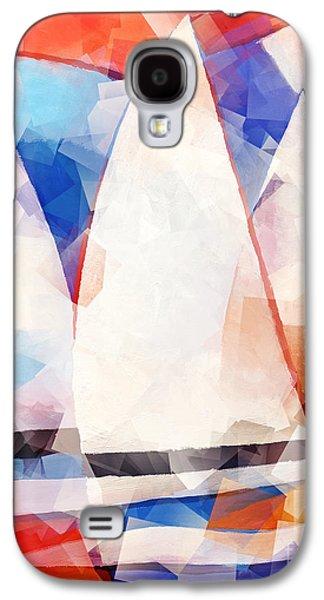 Ocean Sailing Galaxy S4 Cases - Cubic Sails Galaxy S4 Case by Lutz Baar