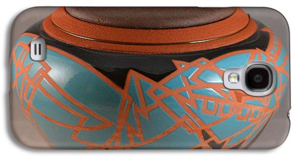Sports Ceramics Galaxy S4 Cases - Cubist Fantasy I Galaxy S4 Case by Chris Tennis