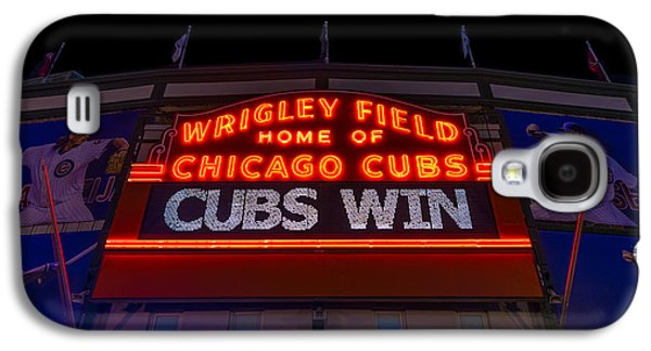Wrigley Field Galaxy S4 Cases - Cubs Win Galaxy S4 Case by Steve Gadomski