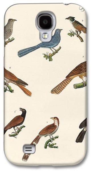 Cuckoos From Various Countries Galaxy S4 Case by Splendid Art Prints