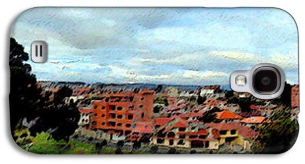 Studio Photographs Galaxy S4 Cases - Cuenca Panorama Digital Painting Galaxy S4 Case by Al Bourassa