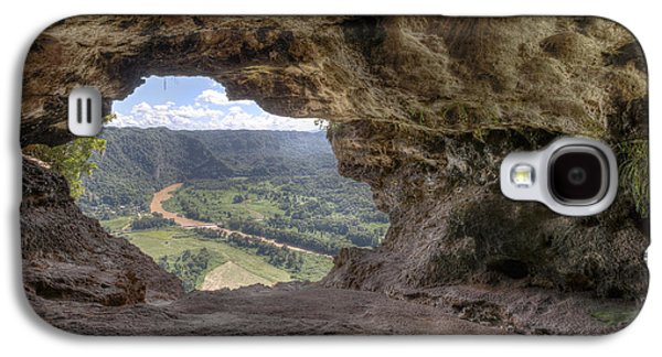 Mountain Photographs Galaxy S4 Cases - Cueva Ventana in Arecibo Puerto Rico Galaxy S4 Case by Andres Leon