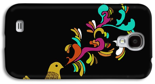 Singing Galaxy S4 Cases - Cui cui Galaxy S4 Case by Budi Satria Kwan