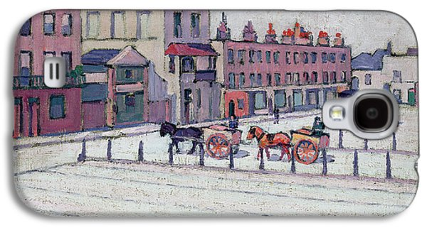 Town Square Galaxy S4 Cases - Cumberland Market North Side Galaxy S4 Case by Robert Polhill Bevan