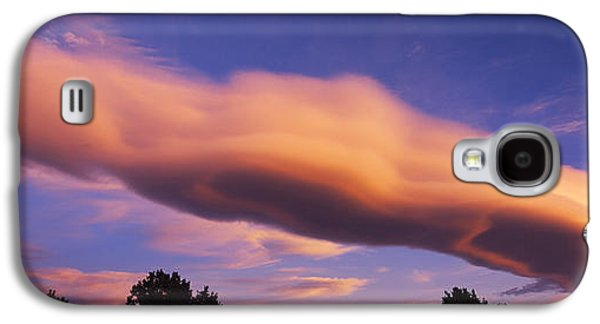 Wine Scene Galaxy S4 Cases - Cumulus Clouds In The Sky At Dusk, Paso Galaxy S4 Case by Panoramic Images