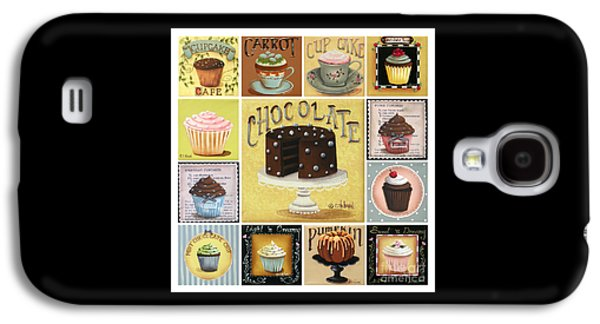 Catherine Galaxy S4 Cases - Cupcake Mosaic Galaxy S4 Case by Catherine Holman