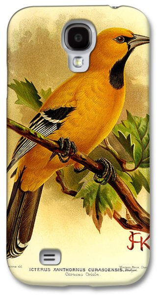 Curacao Oriole Galaxy S4 Case by J G Keulemans