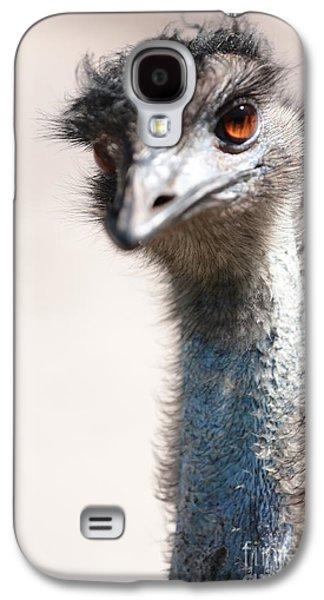 Curious Emu Galaxy S4 Case by Carol Groenen