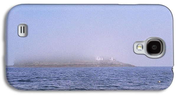 Midcoast Galaxy S4 Cases - Curtis Island Fog Lifting Galaxy S4 Case by Marty Saccone