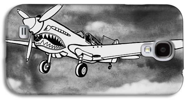 Curtiss P-40 Warhawk 2 Galaxy S4 Case by Scott Nelson