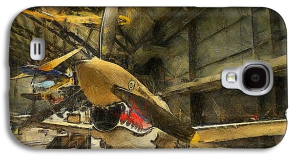 Curtiss Galaxy S4 Cases - Curtiss P40 Warhawk Galaxy S4 Case by Dan Sproul