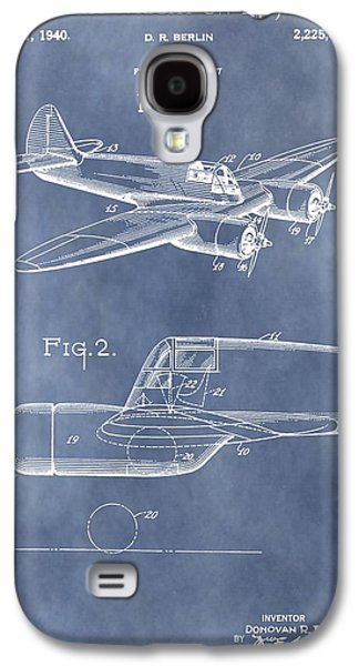 Curtiss Galaxy S4 Cases - Curtiss-Wright CW-25 Patent Galaxy S4 Case by Dan Sproul
