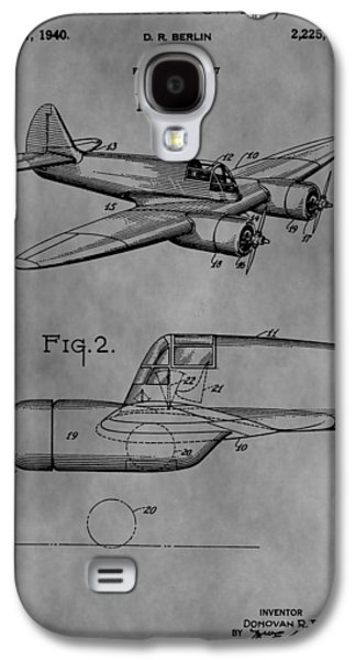 Curtiss Galaxy S4 Cases - Curtiss-Wright Jeep Patent Galaxy S4 Case by Dan Sproul