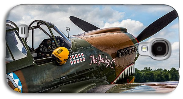 Curtiss Galaxy S4 Cases - Curtiss-Wright P40 Warhawk  Galaxy S4 Case by Mark Papke